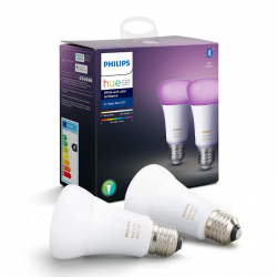 PHILIPS HUE 2xE27 White & Color