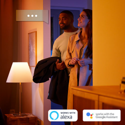PHILIPS HUE KIT  E27 White Ambiance 3x9,5W 800lm