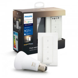 PHILIPS HUE KIT 1xE27+ Switch White Ambiance