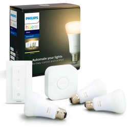 KIT White E27 3x9,5W 806lm LED Philips HUE