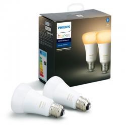 Lampadas White Ambiance E27 2x 9W Philips HUE