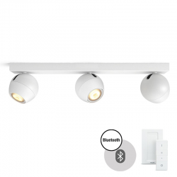 PHILIPS HUE Buckram LED White Ambiance