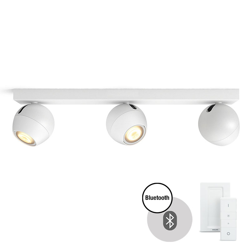 PHILIPS HUE Buckram Bar/Tube 3x5.5 W LED White