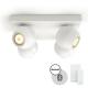 PHILIPS HUE Buckram Plate/ Spiral 4x5.5 W LED White