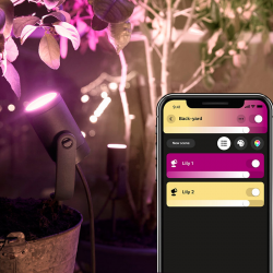 PHILIPS HUE Lily base 1x LED White & Color