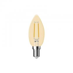 NORDLUX Vela c35 vintage gold 4,8w LED