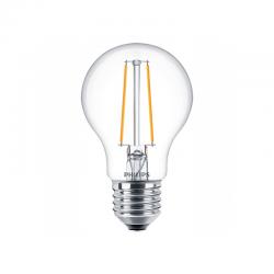 PHILIPS Clássica LED E27-A60 7.2W Equiv.60W 2700K (Branco Quente) DIM