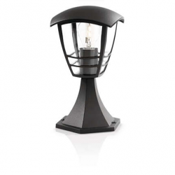 Candeeiro pedestal Philips Creek 1x60W