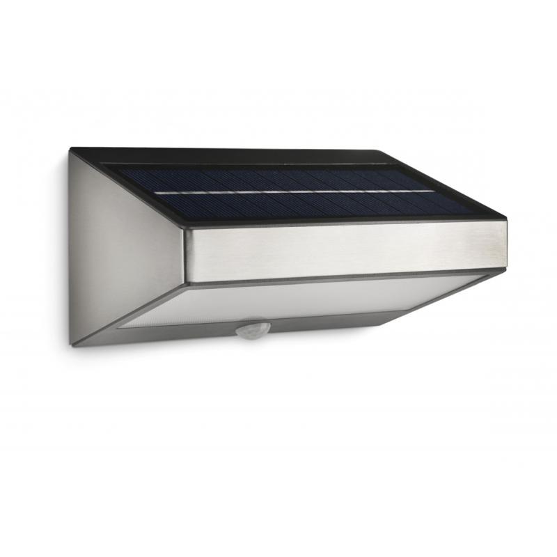 Lanterna de parede Greenhouse LED inox 1x1.5W